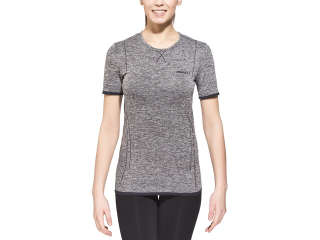 Craft Active Comfort RN Top Manga Corta Mujer, black